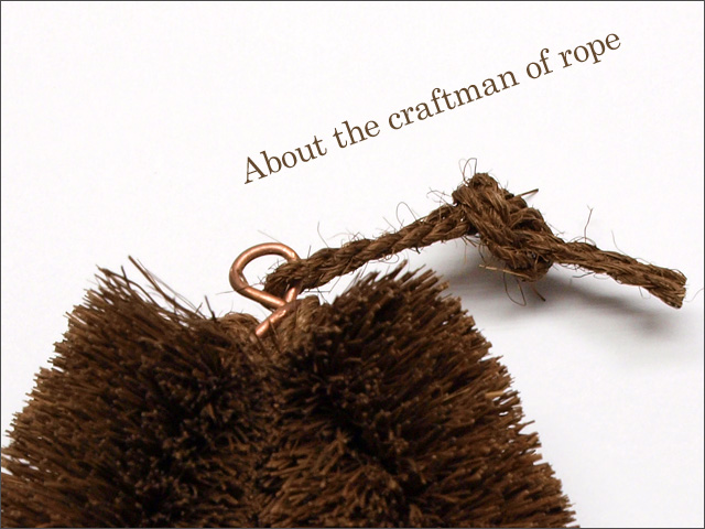 about the craftman of rope